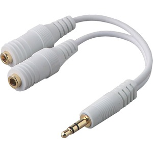 Belkin PRO Series - Audio adapter - mini-phone stereo 3.5 mm (M) - mini-phone st