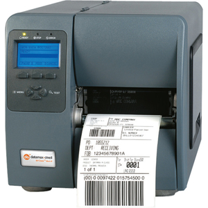 DATAMAX-O''''NEIL, M-4210, BARCODE PRINTER, 4, DIRECT THERMAL/THERMAL TRANSFER, SERIAL/PARALLEL/USB