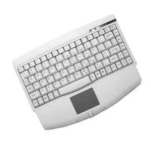 Adesso MiniTouch USB Mini Keyboard with touchpad (White)