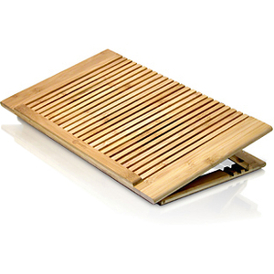 BAMBOO NOTEBOOK ADJUSTABLE STAND. Ultimate thermal solution to cool down your no