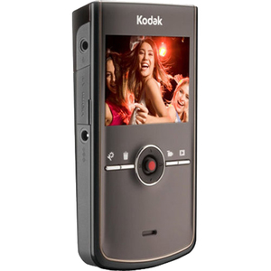 "Kodak Zi8 Digital Camcorder - 2.5"" LCD - CMOS - Red 1268929"