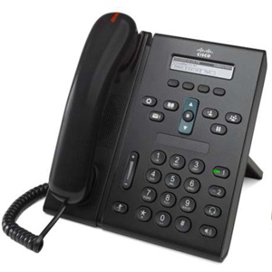 CISCO Unified 6921 IP Phone - Desktop, Wall Mountable - 2 x Total Line - VoIP - PoE Ports