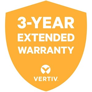 VERTIV Warranty/Support - 3 Year Extended Warranty - Warranty - Maintenance - Parts & Labo