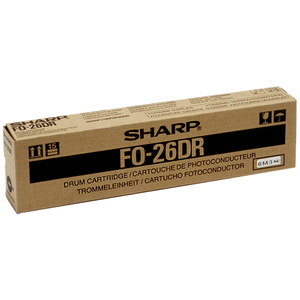 SHARP FO-26DC Toner Cartridge - Black - Laser - 2000 Pages