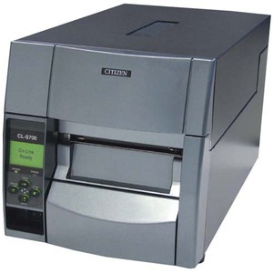 CITIZEN, CL-S703E, BARCODE PRINTER, ETHERNET, 300 DPI