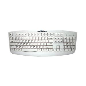 SILVER STORM Washable Keyboard - IP-66 washable, True Type, Full Travel Keys, 24