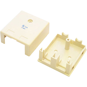STARTECH DUAL KEYSTONE CAT5E RJ45 WALL BOX