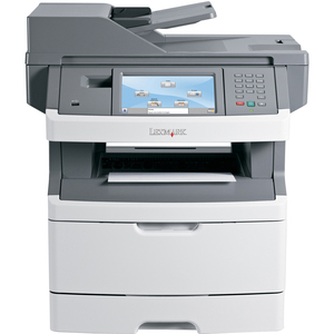 Lexmark X466DTE Multifunction Monochrome Laser Printer
