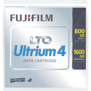 FUJIFILM LTO ULTRIUM 4 LIBRARY PACK LABELLED W/P-CASE - MUST ORDER IN QTY 20