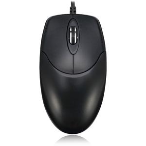 HC-3003 - 3 Button Desktop Optical Scroll Mouse (PS/2)