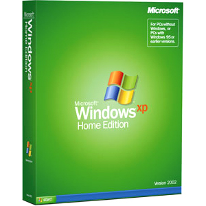 Microsoft Windows XP Home Edition With Service Pack 3 - License and Media - 3 PC KUA00158