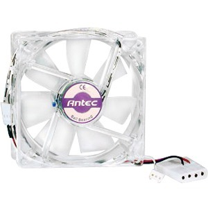 ANTEC PRO 80mm Cooling Fan - 1 x 80 mm - 1 - Ball and Sleeve Bearing