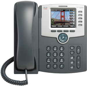 5-LINE IP PHONE WITH COLOR DISPLAY POE