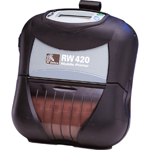 Zebra RW 420 Direct Thermal Printer - Monochrome - Portable - Receipt Print R4P7U0A010000