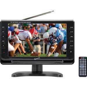 9IN WIDESCREEN LCD TV BUILT-IN DIGITAL TV TUNER BUILT-IN LITHIUM RECHARGEABLE BA