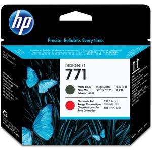 HP Printhead 771-Matte Black/Chromatic Red