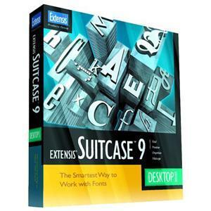 EXTENSIS Suitcase v.9.0 - Complete Product - 1 User - Standard - Fonts/Font Management - Retail