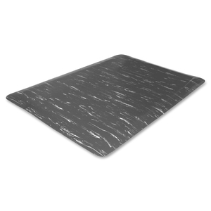 Genuine Joe Marble Top Anti-fatigue Floor Mats - Office, Bank, Cashier's Station, Industry, Airport - 60