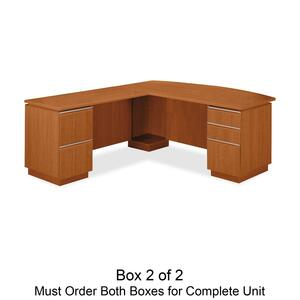 Save $499. on bbf Milano 2 Series Left L Desk Box 2 of 2**Free Shipping**
