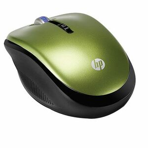 HP 2.4GHZ Wireless Optical 1750CPI (Leaf Green) Mobile Mouse
