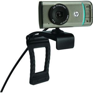 HP HD-3100 Webcam - 30 fps - USB 2.0 BK356AAABL