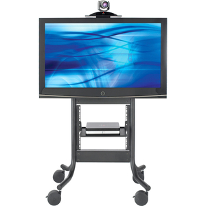 Avteq RPS-500S Display Stand - 37into 65inScreen Support - 300 lb Load Capacity - 1 x Sh
