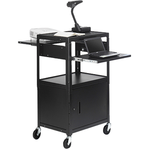 Bretford CA2642DNSE Multimedia Cabinet Cart - Up to 20inScreen Support - 3 x Shelf(ves) -