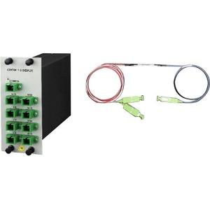 Cisco Prisma Data Multiplexer/Demultiplexer - 8 Data Channels - Optical Fiber