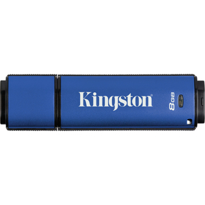Kingston 8GB DataTraveler Vault DTVPM/8GB USB 2.0 Flash Drive- Privacy Managed DTVPM8GB