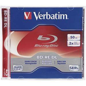 1PK BD-RE DL 50GB 2X BRANDED  JC BRAY