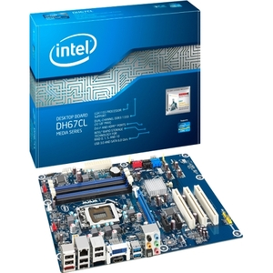 Intel Media DH67CL Desktop Motherboard - Intel H67 Express Chipset - Socket H2 LGA-1155 - 10 x Bulk Pack BLKDH67CLB3