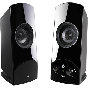 Cyber Acoustics CA-2018 2.0 2-PIECE Amplified Computer Speaker System