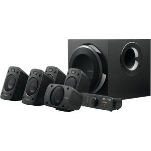 Logitech Z906 5.1 Speaker System - 500 W RMS - DTS-Dolby Digital-3D Sound