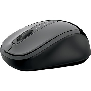 Microsoft 3500 Mouse - BlueTrack - Wireless - Radio Frequency - 2.40 GHz - Lochness Gray -