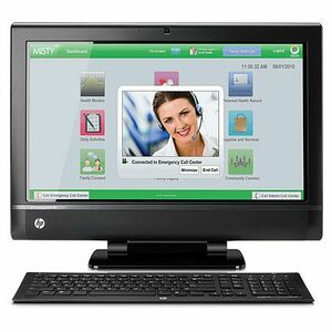 HP TouchSmart 9300 Elite All-in-One Computer - Intel Core i7 i7-2600 3.40 GHz - Desktop XZ837UTABA