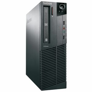Lenovo ThinkCentre M81 5032E3U Desktop Computer - Intel Pentium G840 2.80 GHz - Small Form Factor - Business Black 5032E3U