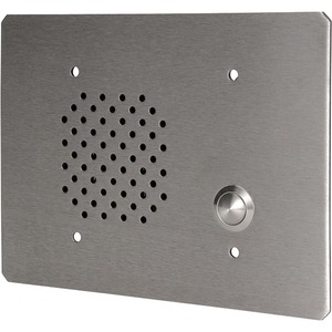 Quam 3-Gang Call-In Station-Vandal Resistant-Stainless Steel - Cable - Surface Mount