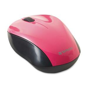 Verbatim Wireless Nano Notebook Optical Mouse | Pink