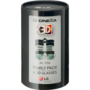 AGF216 Family Pack 3D Glasses
