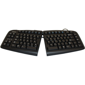 Goldtouch Standard USB Keyboard Black with PS/2 Adapter By Ergoguys