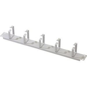 DIGITUS DN-97601 Cable Management Panel - Grey - 1U Height - 19 Width""