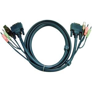 10 DVI-I DUAL LINK KVM CABLE