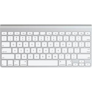 APPLE MC184Y/B Keyboard - Wireless Connectivity - Bluetooth - Aluminium - Spanish