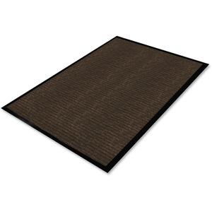 Genuine Joe Gold Dual-Rib Hard Surface Floor Mat - Hard Floor - 60