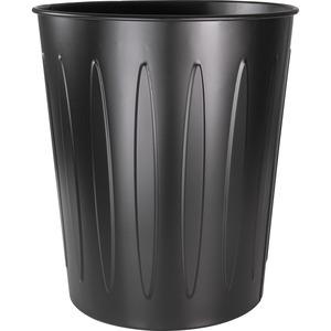 Genuine Joe Steel 6 Gallon Fire-safe Trash Can - 6 gal Capacity - 14