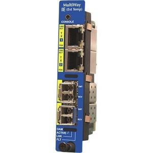 IE-IMCV-MULTIWAY - MODULAR 10/100/1000 MBPS ETHERNET MEDIA/MODE CONVERTER