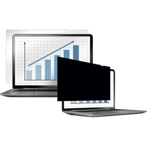 "Fellowes Laptop/Flat Panel Privacy Filter | 15.6"" W Black"