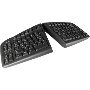 Key Ovation Goldtouch V2 Adjustable Comfort Keyboard for PC/Mac, Black, USB