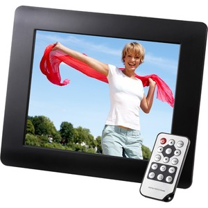 """INTENSO PhotoBase 20.3 cm (8) LCD Cable Digital Frame - 1024 x 768 - 16:9 - JPEG"""""""