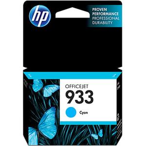 HP INC. - INK 933 CYAN INK CARTRIDGE FOR OFFICEJET